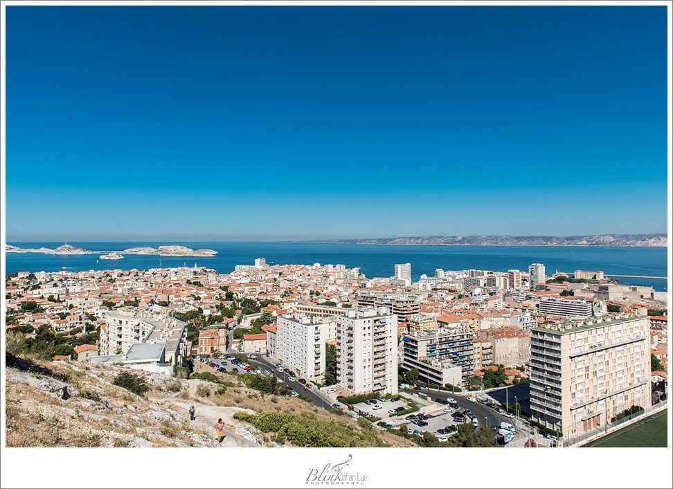view of Marseille, France