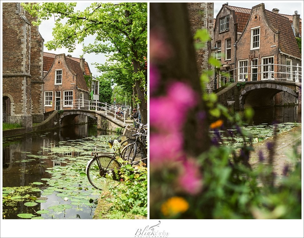 The most photographed house in Delft.