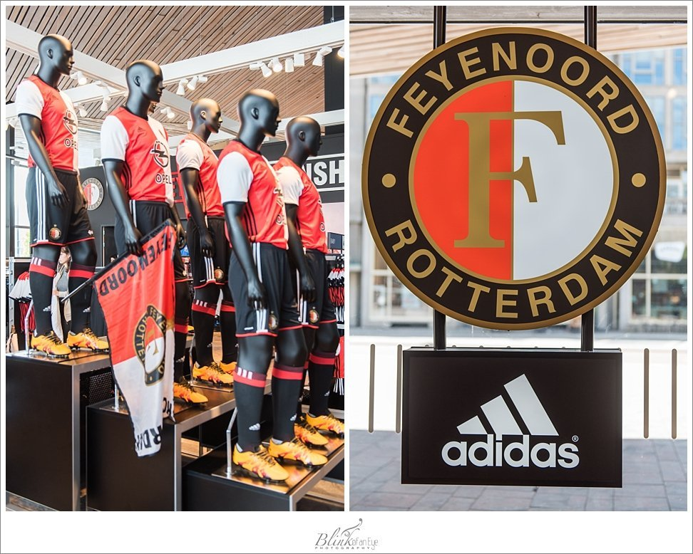 Feyenoord is the team of Rotterdam.