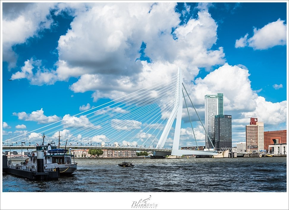 My husband's favorite structure in Holland in the Erasmusbrug.