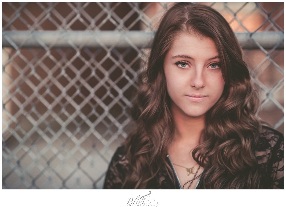 Texture and the golden hour light produced this beautifully soft, yet edge senior portrait.