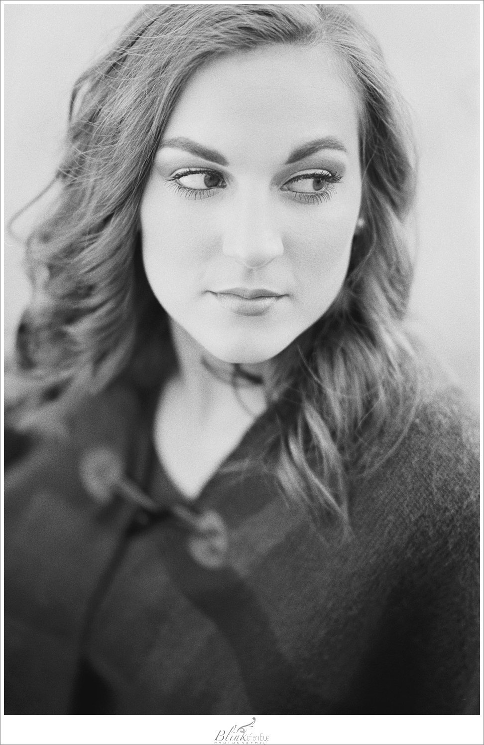 Black and White Film portrait.