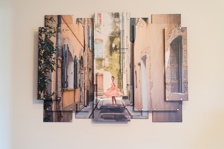 Gorgeous Wall Art of photo taken in southern France.