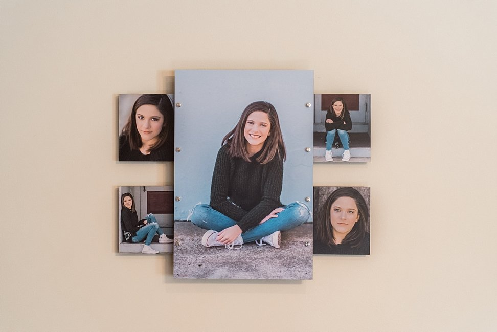 3-D Wall Collage is a great way to showcase you portrait images.