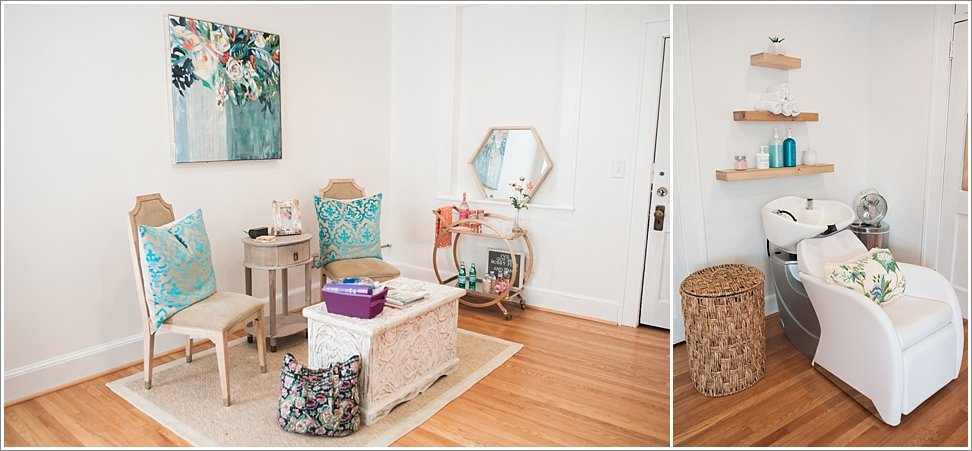 The Loft Styling Studio in downtown Burlington, NC.