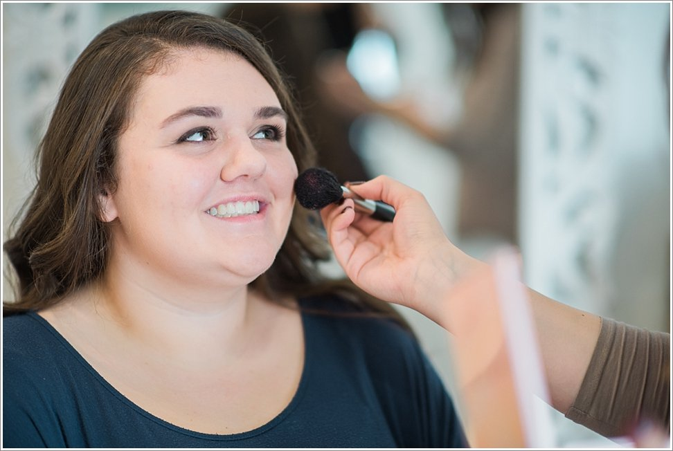 Professional make up for senior session at The Loft Styling Studio.