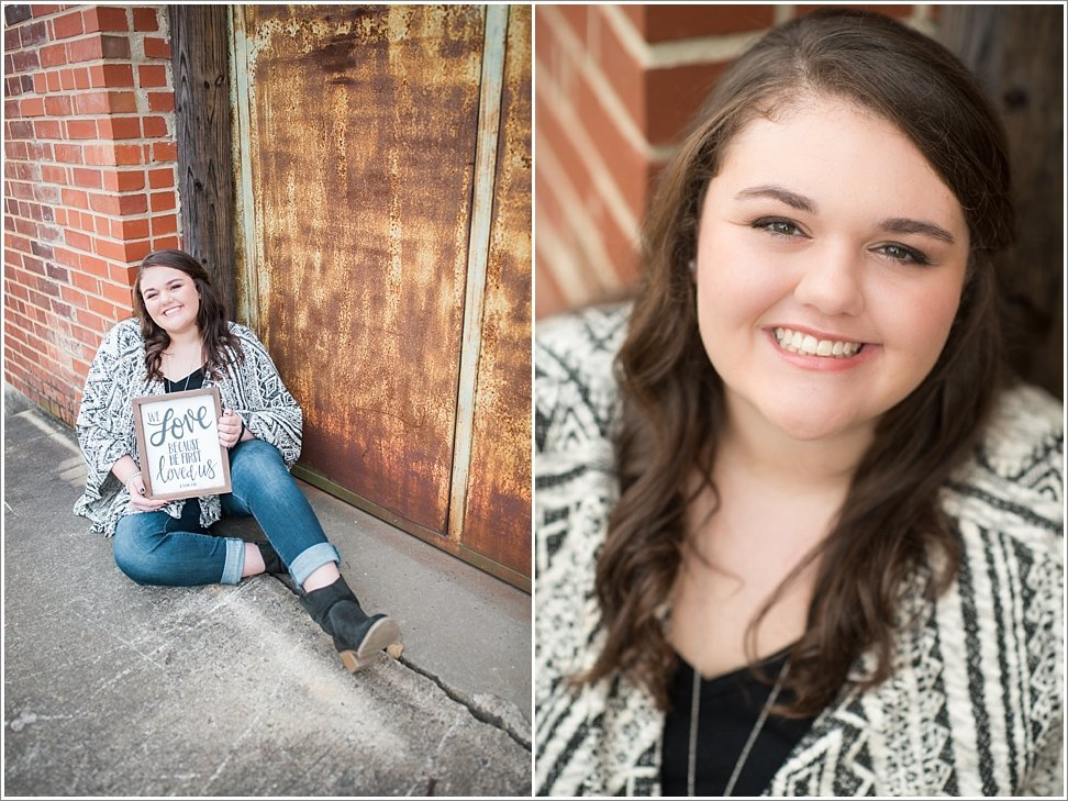 Beauty Revived Senior Session in Burlington, NC.