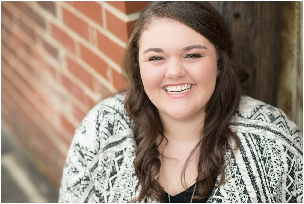Senior radiates joy during her Beauty Revived Senior Session