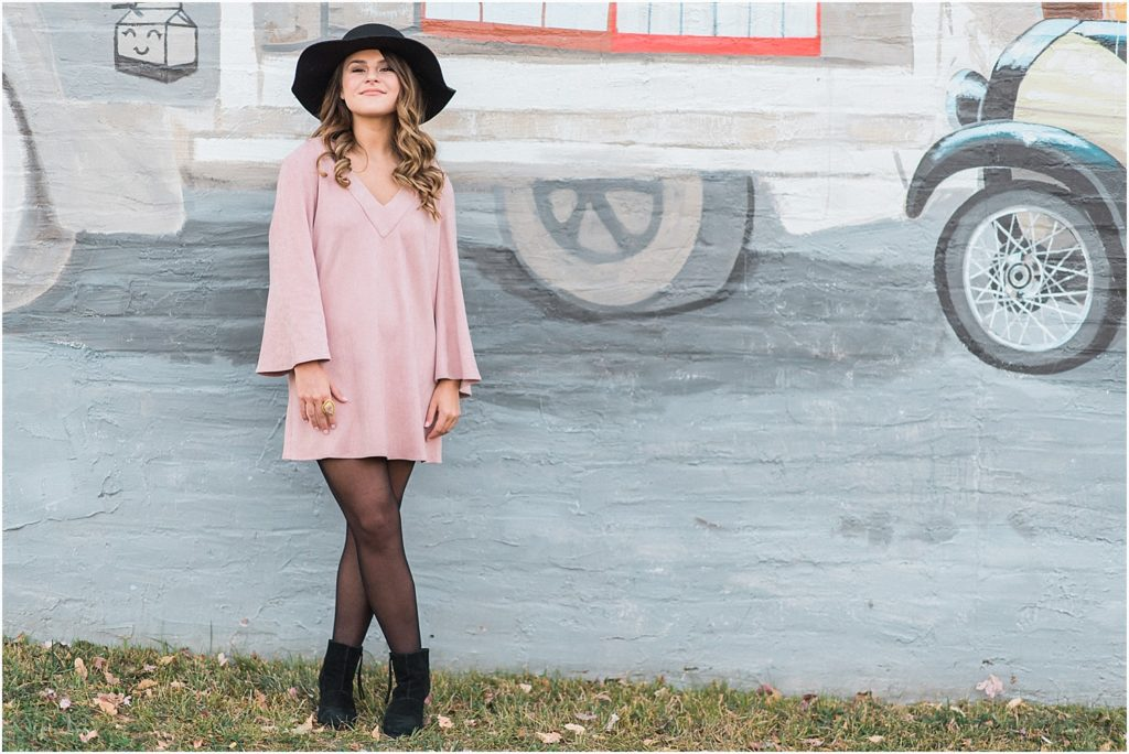 Hats are the perfect accessory as seen in this stunning photo in downtown Mebane, NC.